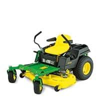 Rasenmäher mit Lenkung über die Antriebsräder