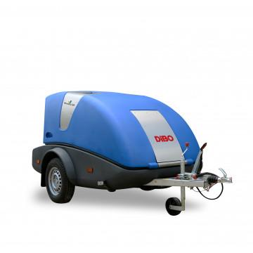 Thermische Wildkrautvernichtung als Anhängermaschine